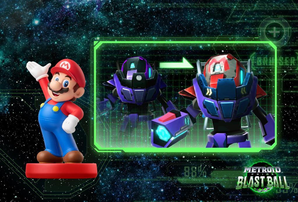 Metroid Prime Federation Force Amiibo Mario