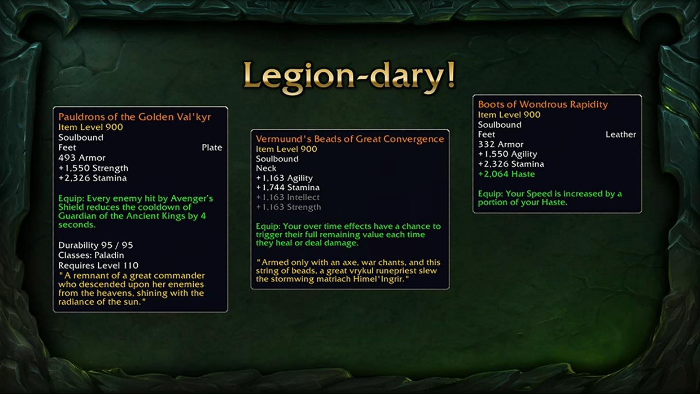 WoW-Legion-Légendaires