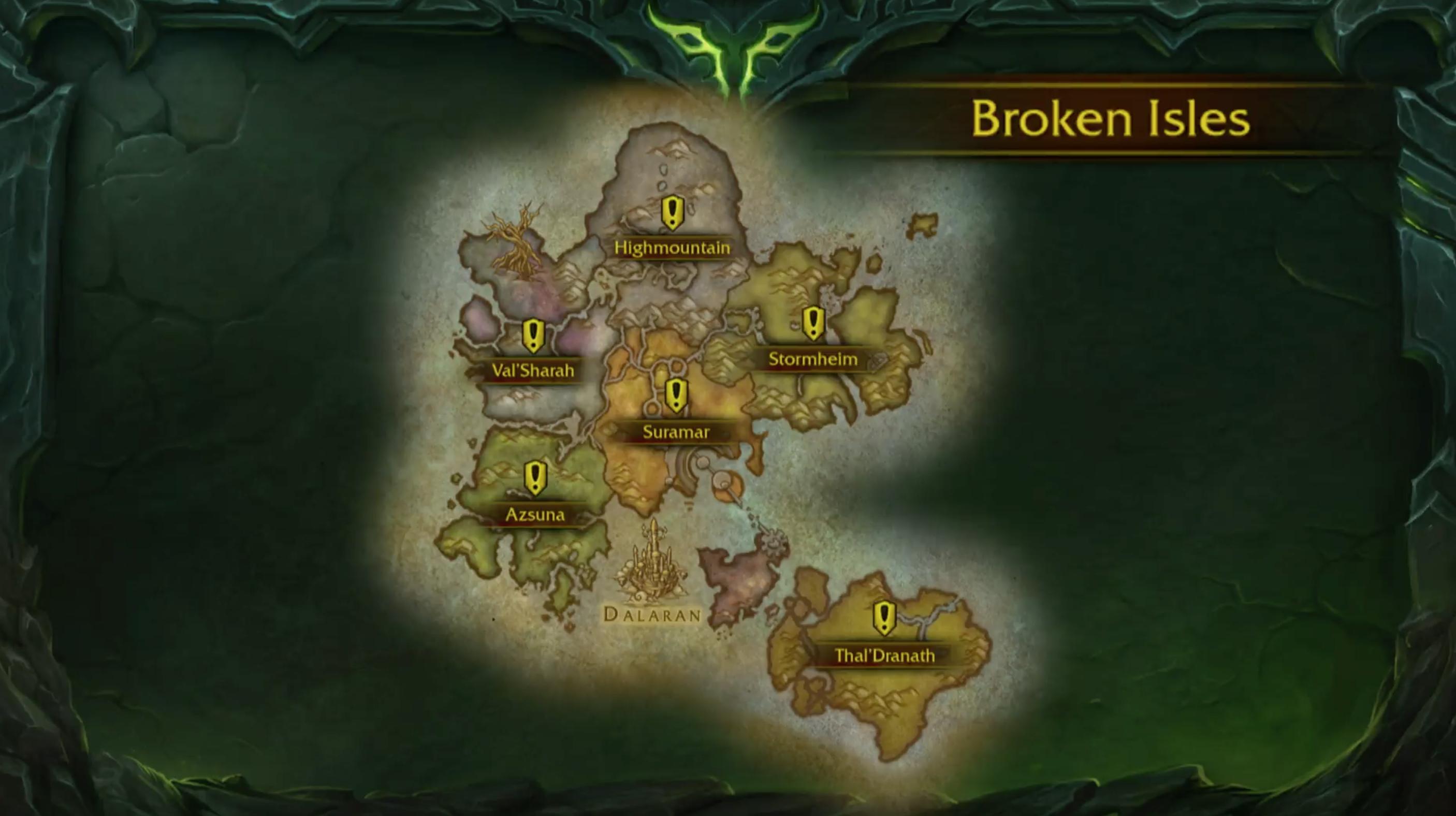 WoW-Legion-Map