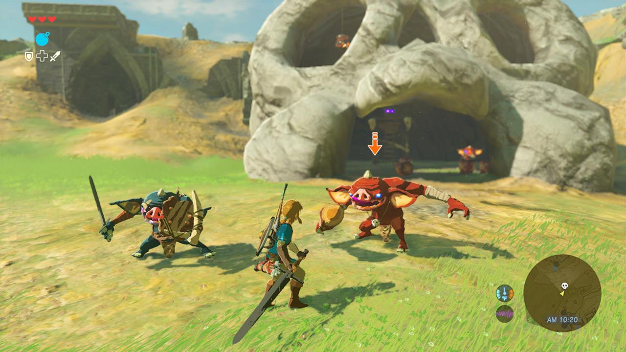 Zelda Breath of The Wild - Combat E3 2016
