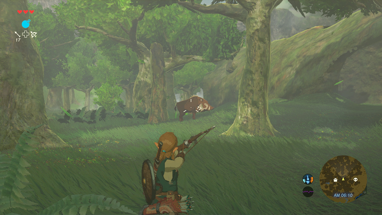 Zelda Breath of The Wilid - Chasse E3 2016
