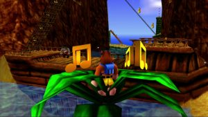 Banjo-Kazooie treasure trove cove