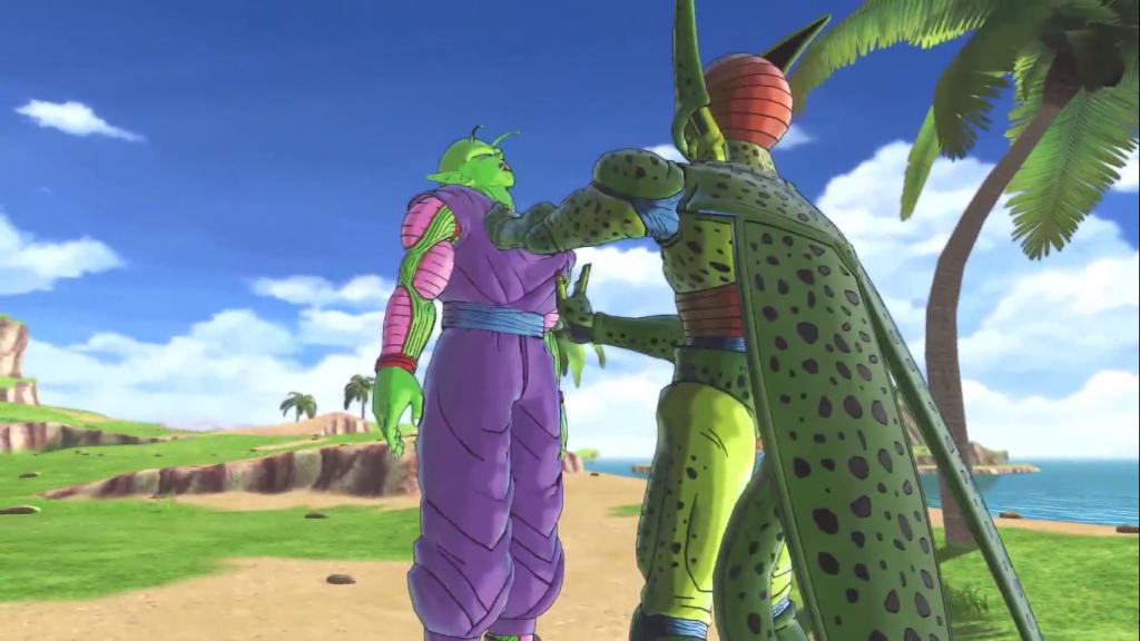 Dragon Ball Xenoverse 2 Piccolo VS Cell
