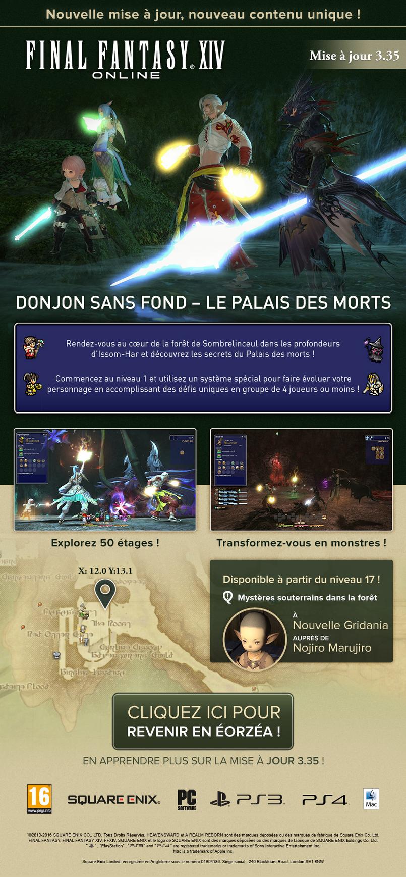 FF XIV Palais des morts 0