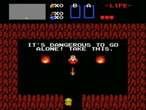 The Legend of Zelda - Dangerous to go Alone