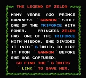 The Legend of Zelda - Histoire
