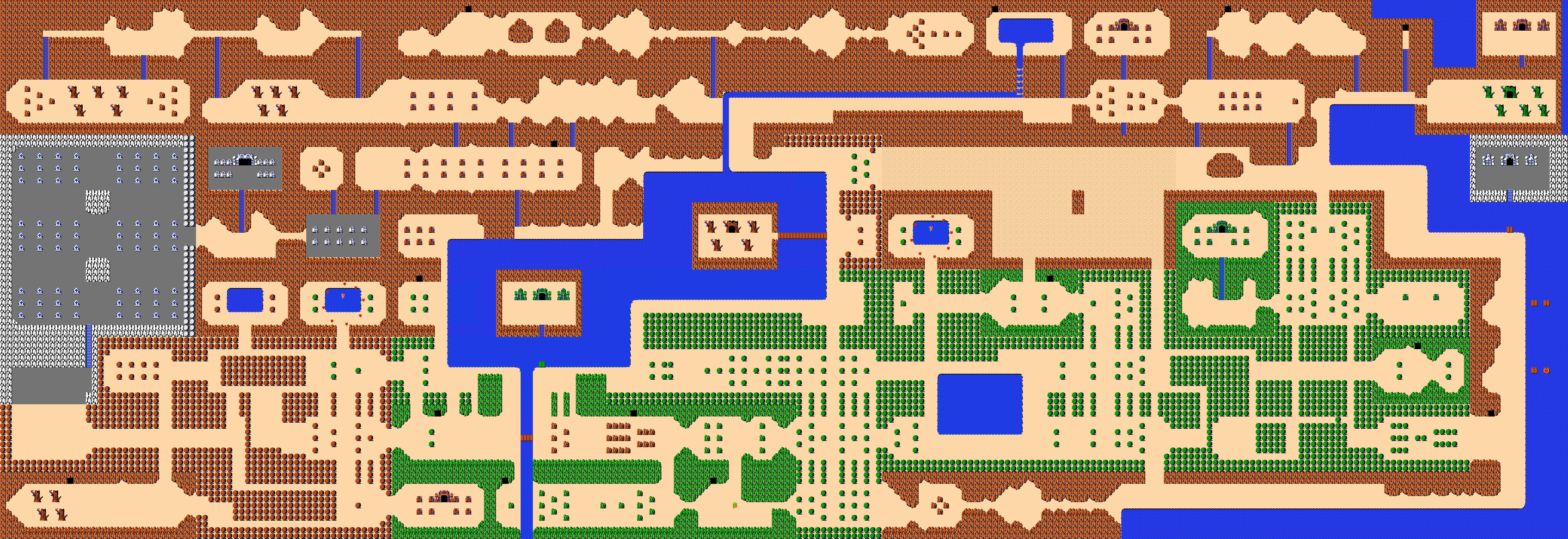The Legend of Zelda - Map