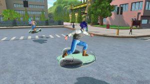 Dragon Ball Xenoverse 2 Hoverboard