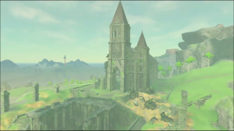 Breath of the Wild Temple du Temps