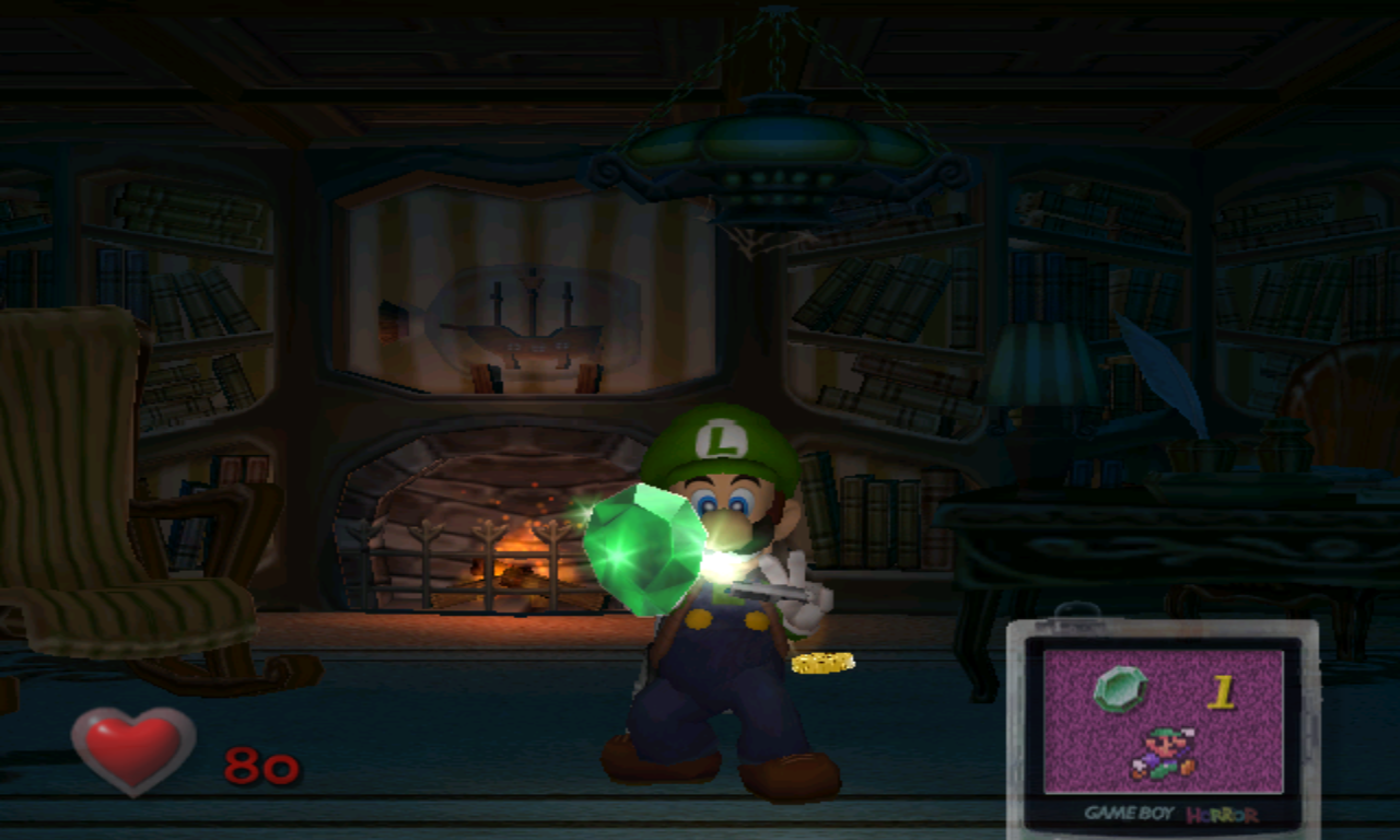 Luigi's Mansion émeraude