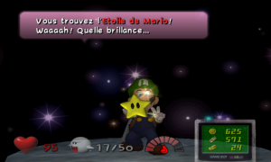 Luigi's Mansion étoile
