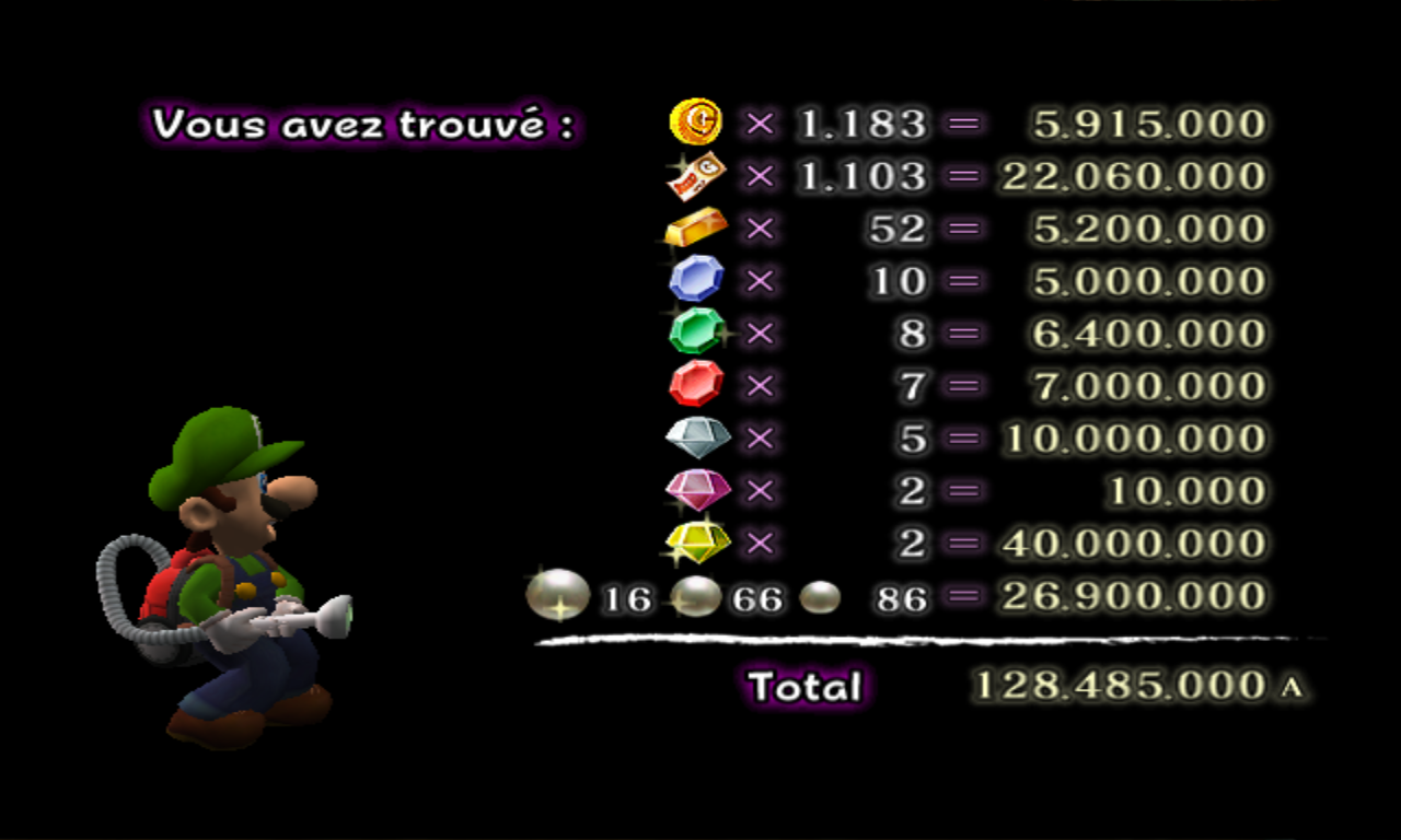 Luigi's Mansion Argent 4