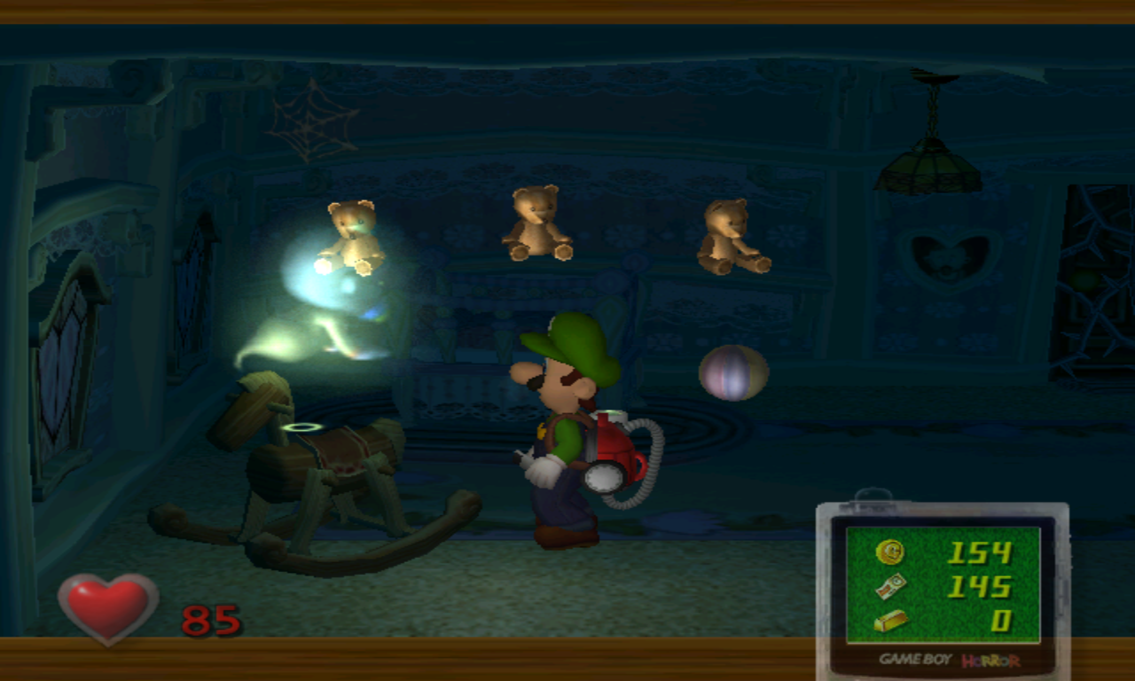 Luigi's Mansion Bébé