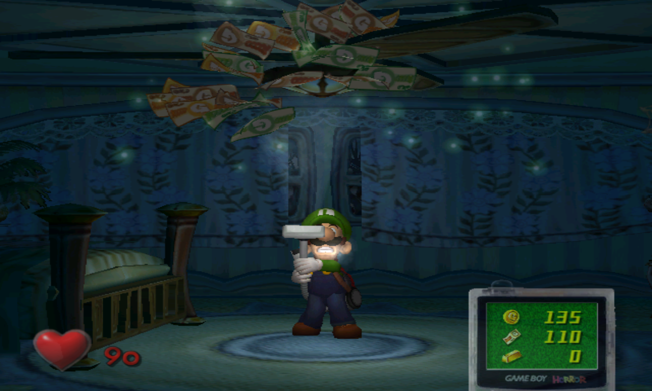 Luigi's Mansion Billets
