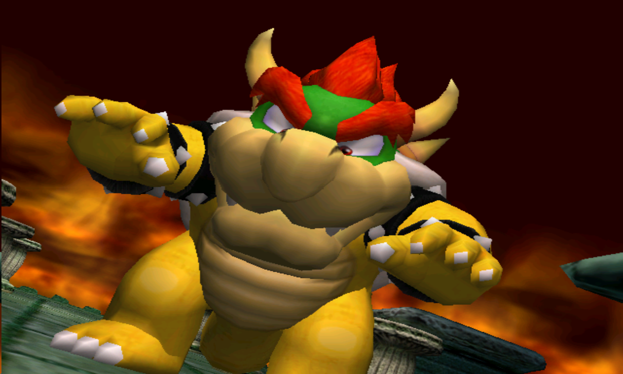 Luigi's Mansion Bowser le vrai