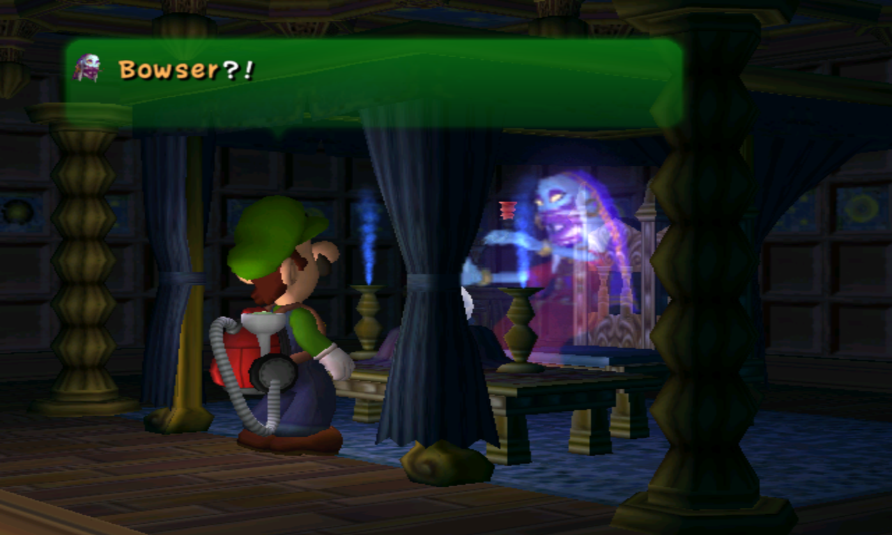 Luigi's Mansion Bowser
