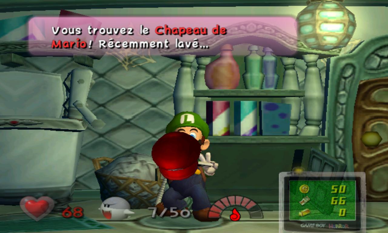 Luigi's Mansion Casquette Mario