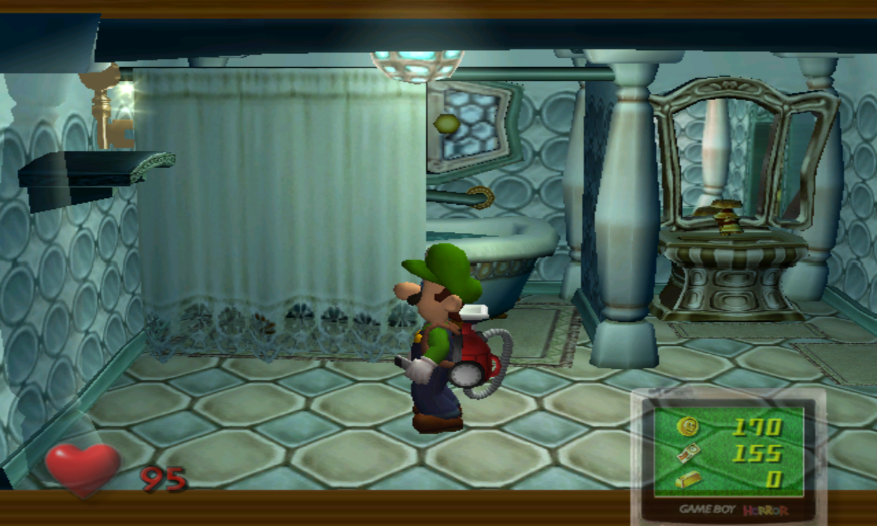Luigi's Mansion Clé Plafond