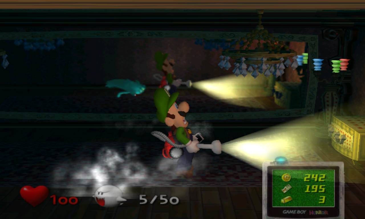 Luigi's Mansion Fantôme Invisible