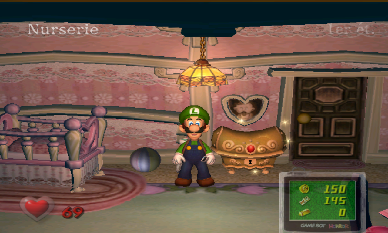 Luigi's Mansion Gros Coffre