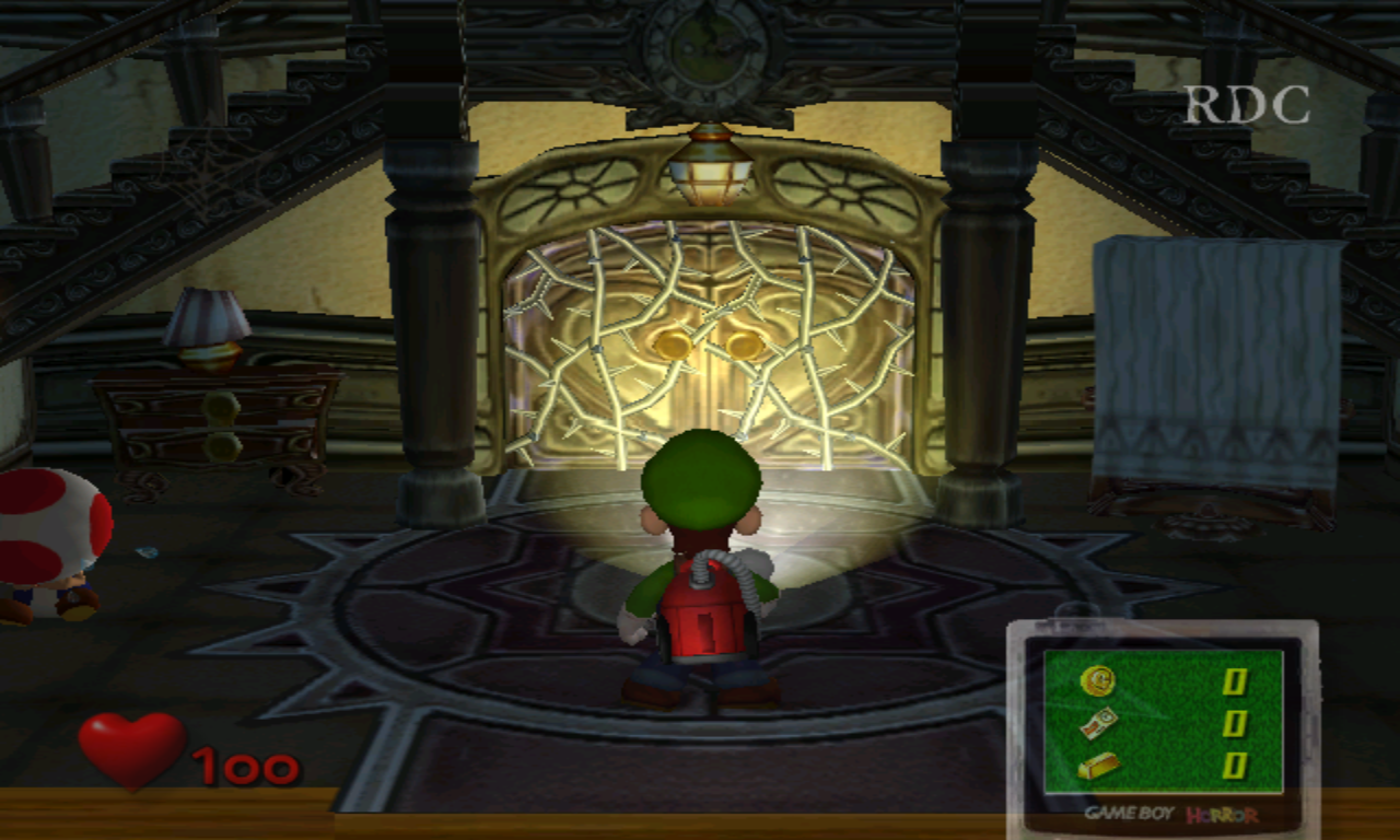 Luigi's Mansion Hall normal