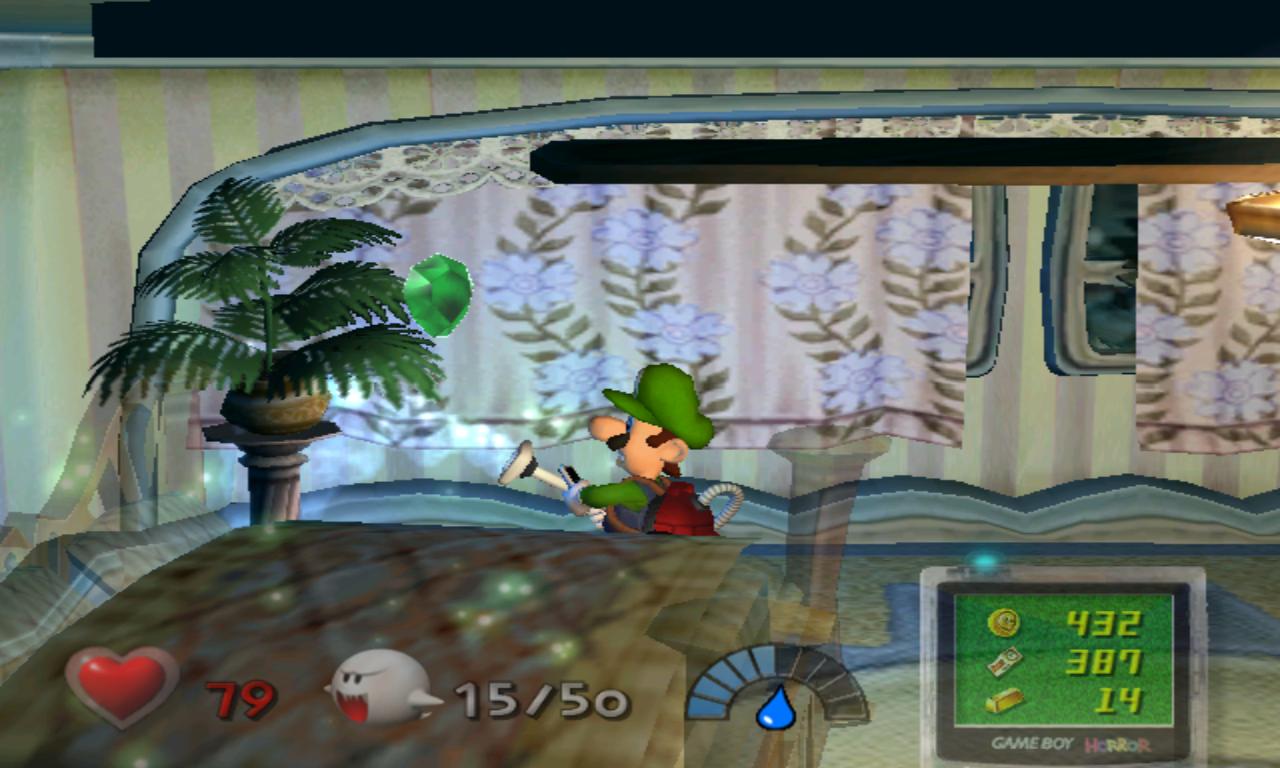 Luigi's Mansion Jardinier