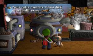Luigi's Mansion Juste une nuit
