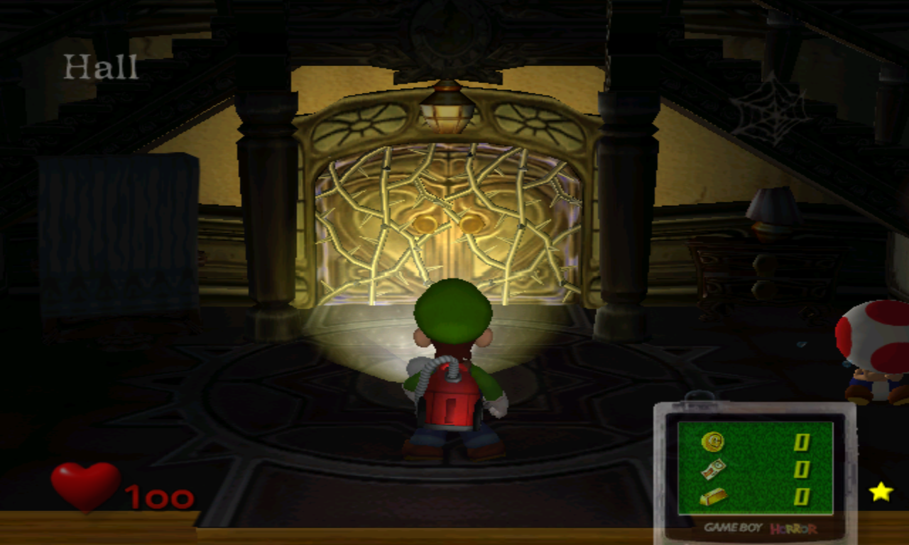Luigi's Mansion Manoir Caché