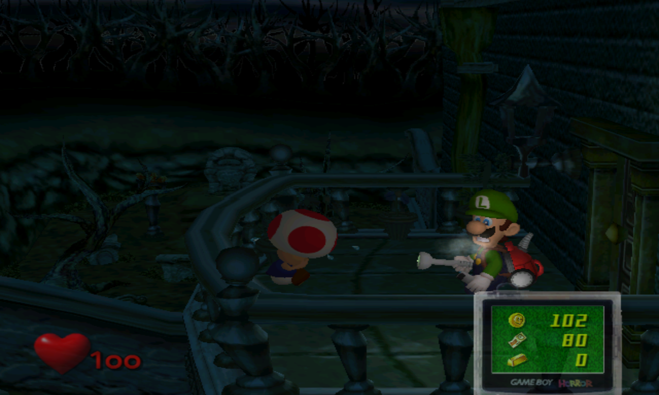 Luigi's Mansion Petit Balcon
