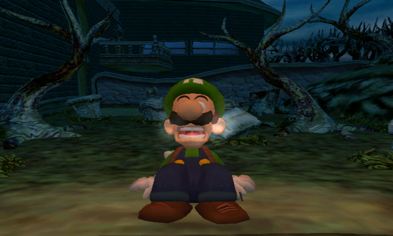 Luigi's Mansion Peur