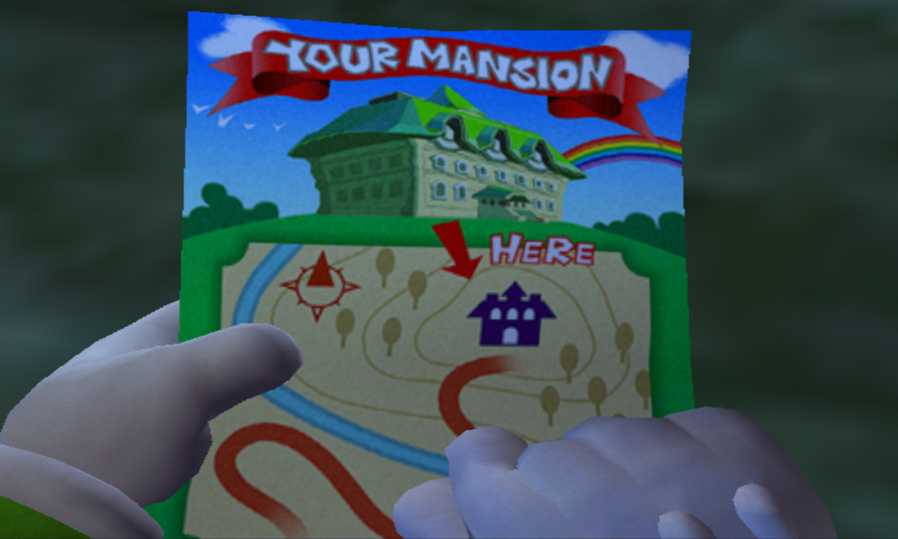 Luigi's Mansion Plan