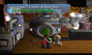 Luigi's Mansion Portrificateur