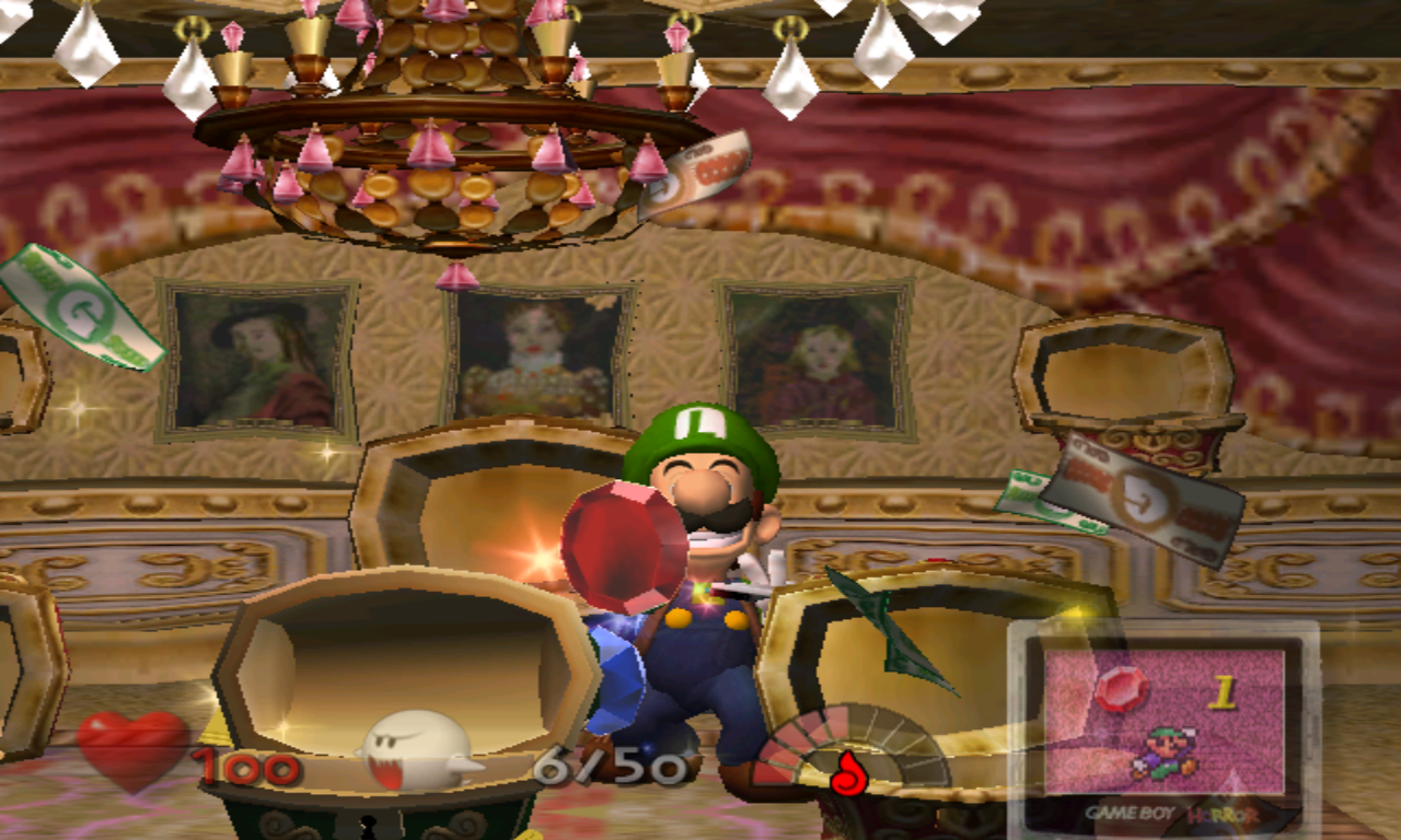 Luigi's Mansion Rubis