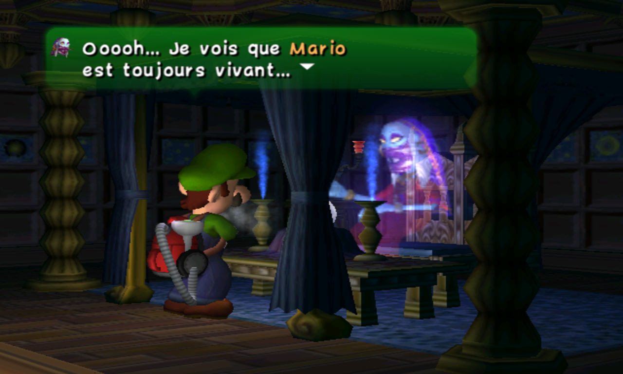 Luigi's Mansion Voyance