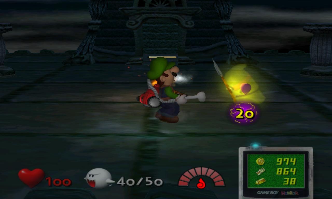 Luigi's Mansion coeur fantôme