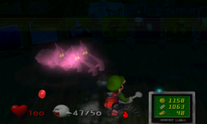 Luigi's Mansion encerclé
