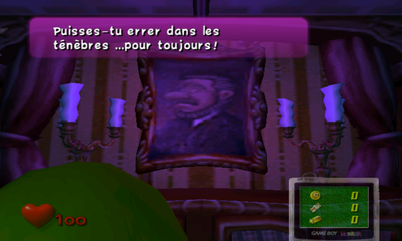 Luigi's Mansion tableaux 4