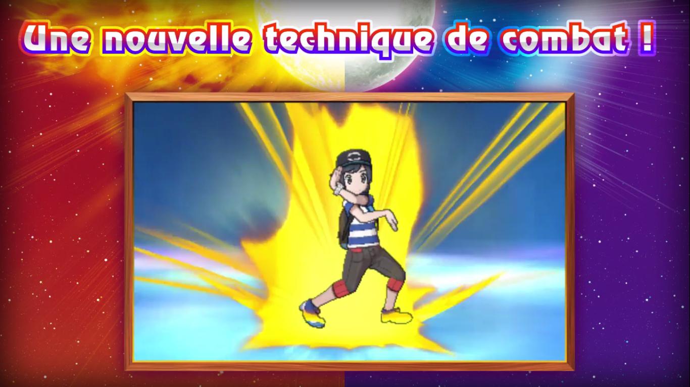 Pokémon Soleil et Lune Capacité Z électrique