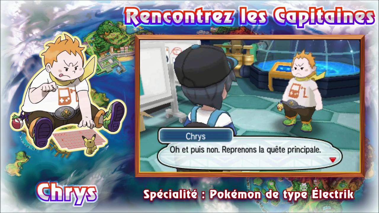 Pokémon Soleil et Lune Chrys
