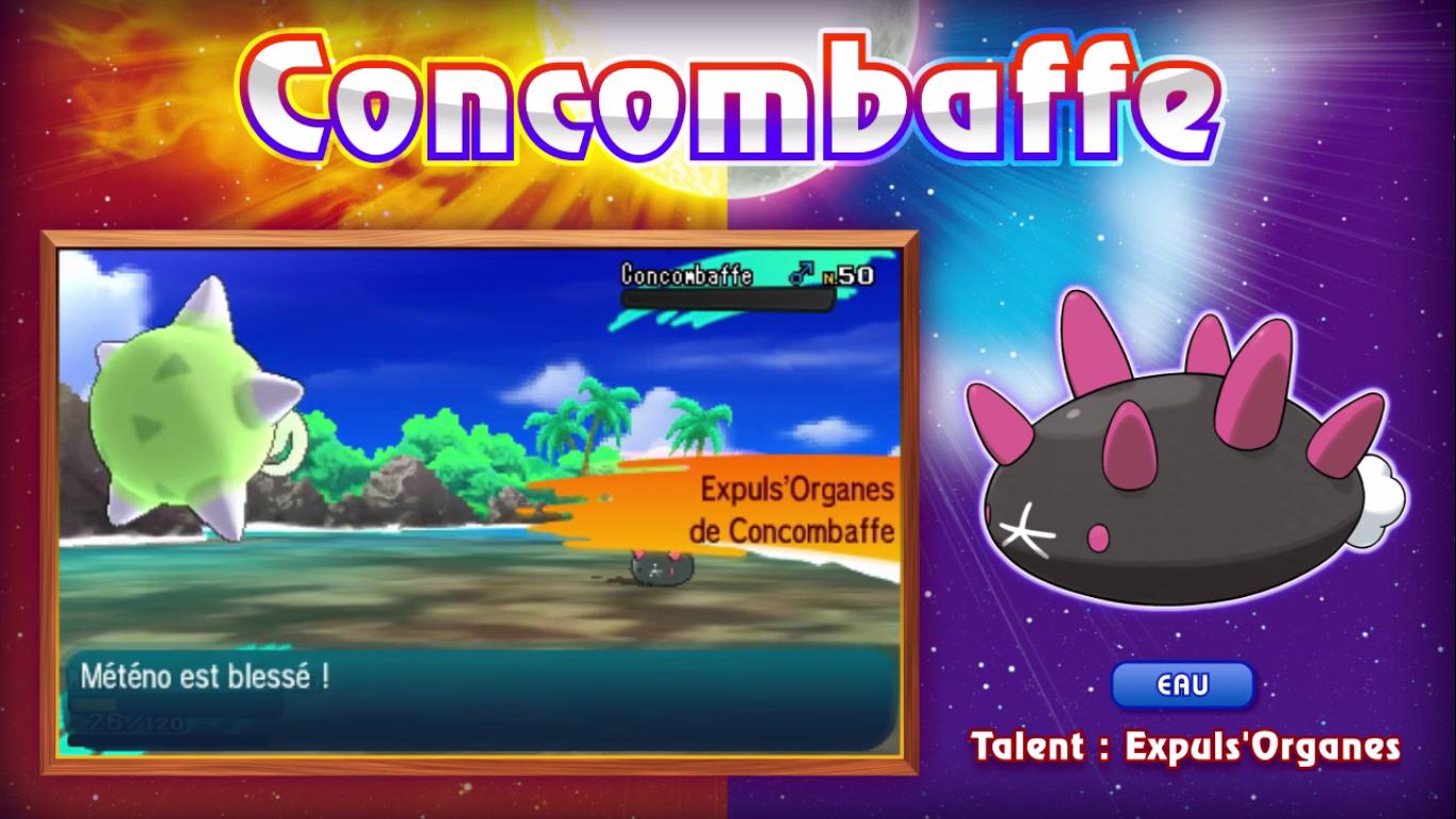 Pokémon Soleil et Lune Concombaffe 2