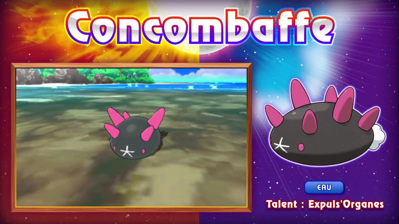 Pokémon Soleil et Lune Concombaffe