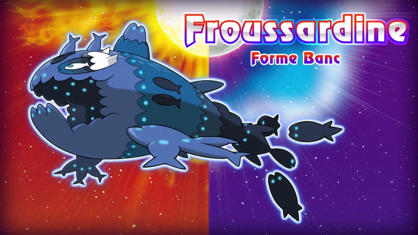 Pokémon Soleil et Lune Froussardine Banc 2