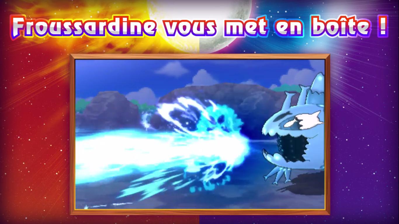 Pokémon Soleil et Lune Froussardine Banc 3