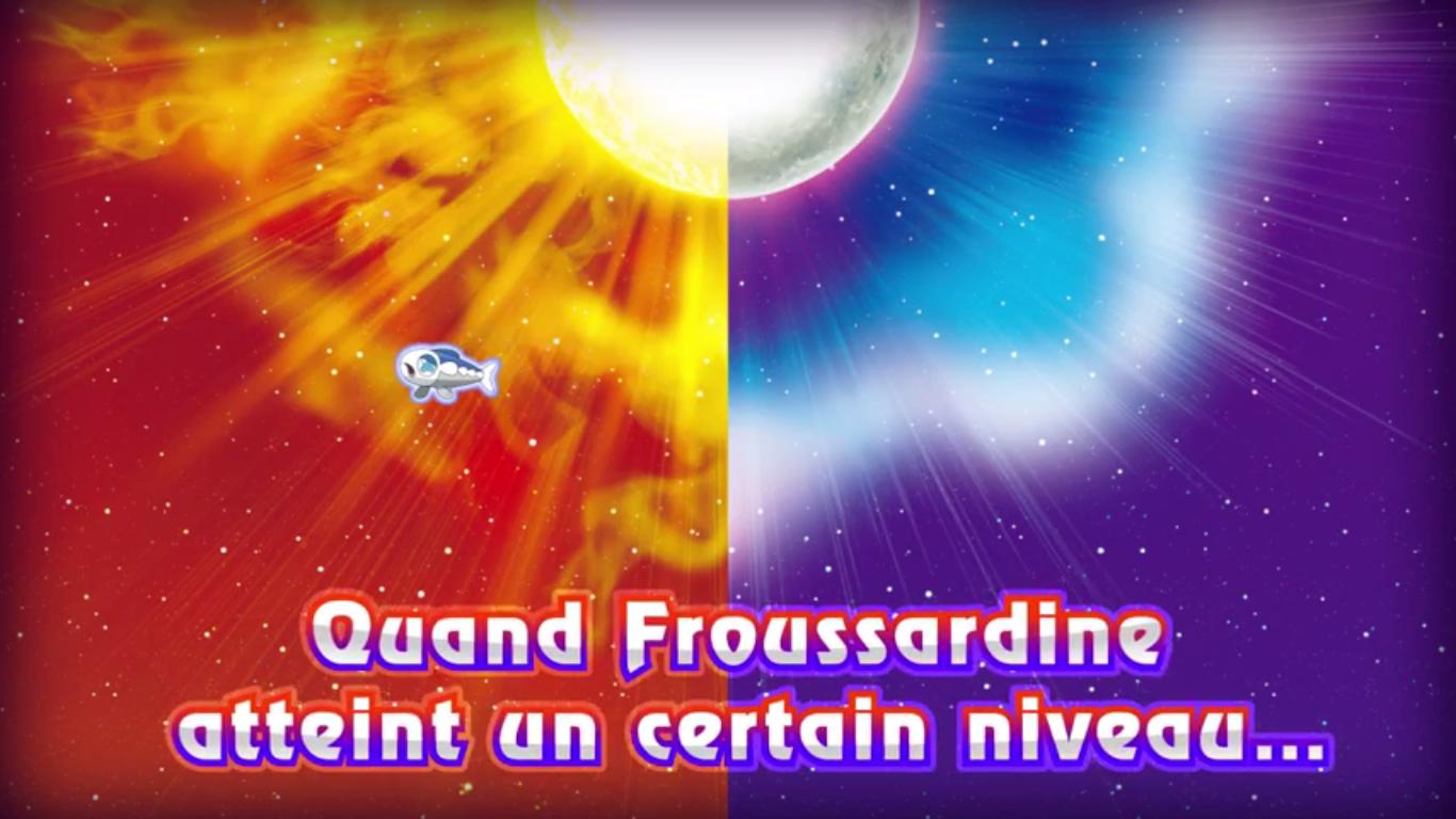 Pokémon Soleil et Lune Froussardine Banc
