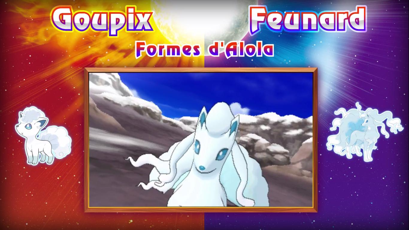 Pokémon Soleil et Lune Goupix Feunard 2