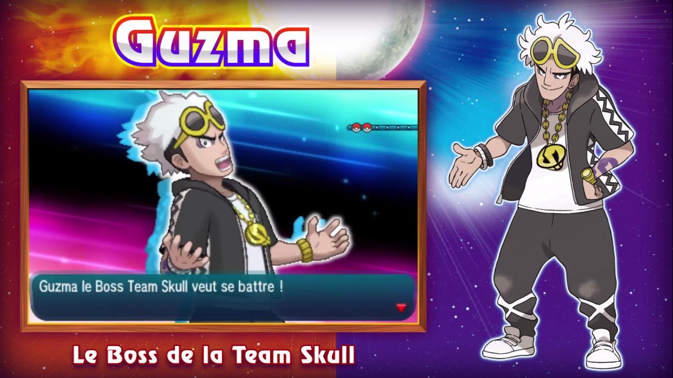Pokémon Soleil et Lune Guzma 2