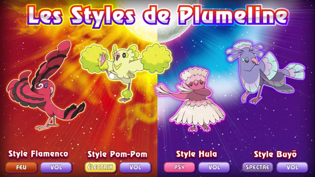 Pokémon Soleil et Lune Plumeline