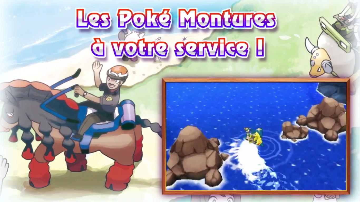 Pokémon Soleil et Lune PokéMontures 4