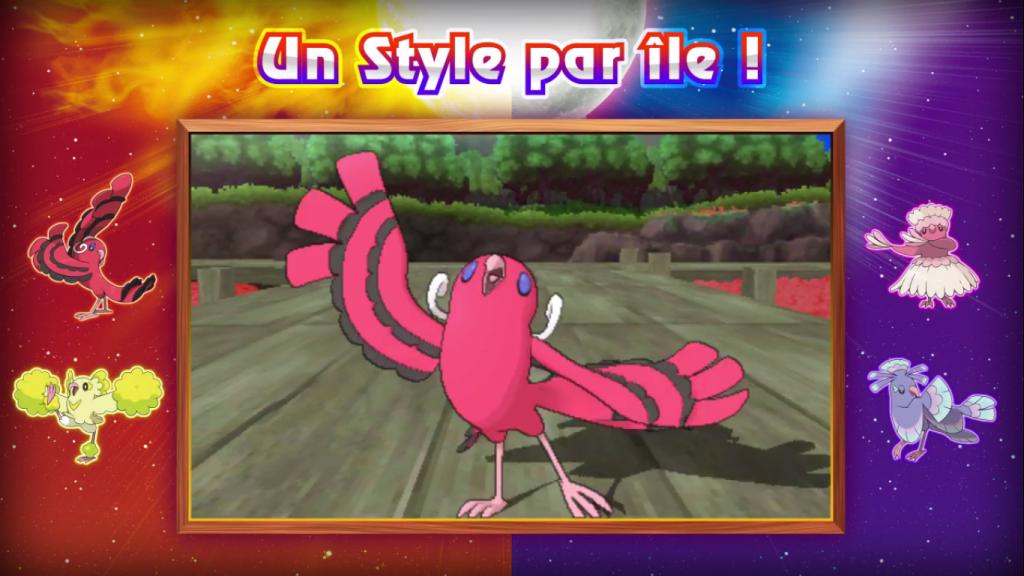 Pokémon Soleil et Lune forme Flamenco