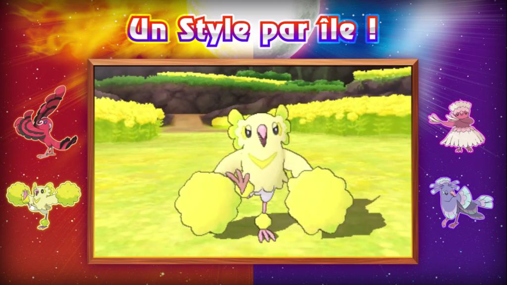 Pokémon Soleil et Lune forme Pom-Pom